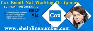 Cox Email Not Working On iphone