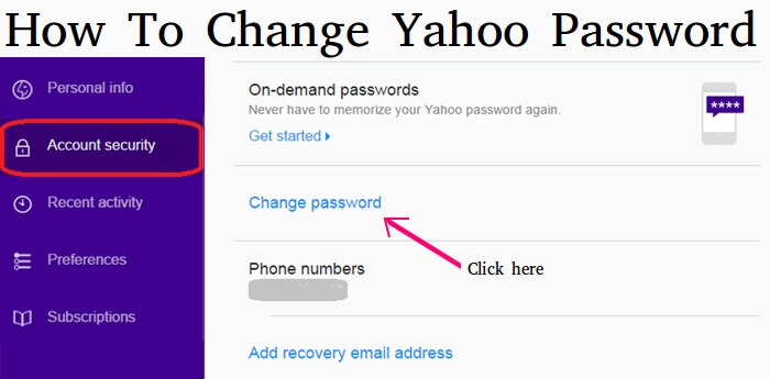 how-to-change-yahoo-email-password
