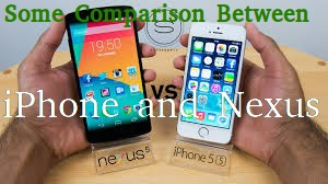 Some Comparison Between iPhone and Nexus