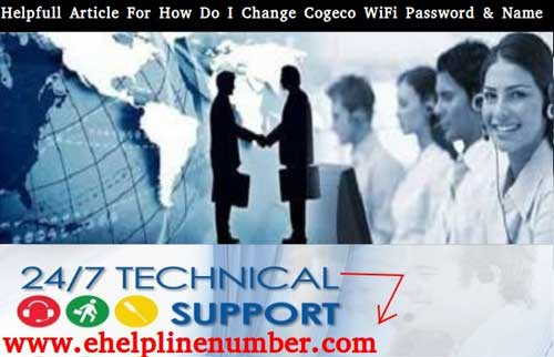 How Do I Change My Cogeco WiFi Password