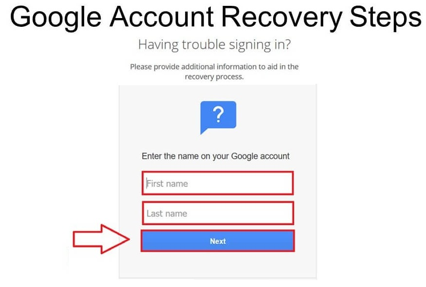 google-account-recovery-help-page